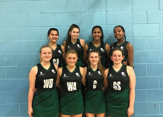 Year 10 Girls' Netball Team through to County Cup Semi-Finals!