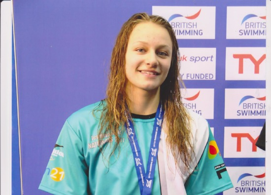 Year 11 student's swimming success!