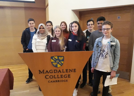 Year 9 Linguists attend Magdalene College, Cambridge