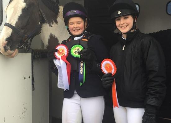 Students' success at National Equestrian Championships