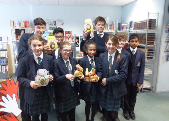 Students celebrate World Book Day 2018