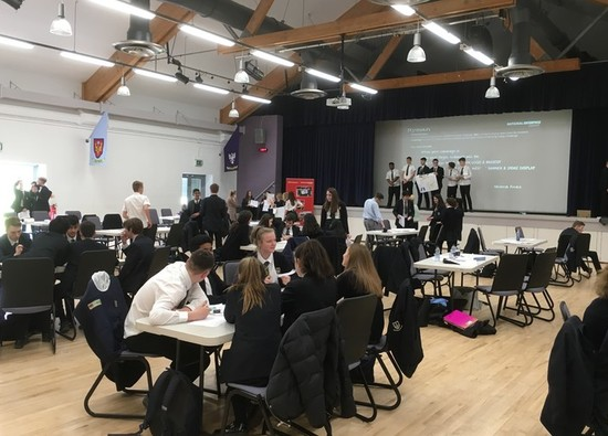 Business students pitch ideas at National Enterprise Competition