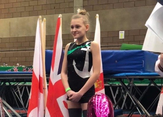 Students win awards at National Trampolining Competition in Northern Ireland