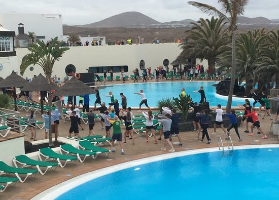 Sports students train in Lanzarote