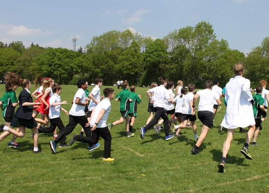 Year 8 students hold Fun Run for Cancer Research and MS Society