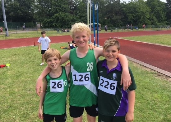 Athletes' Success at County Athletics Track and Field Event