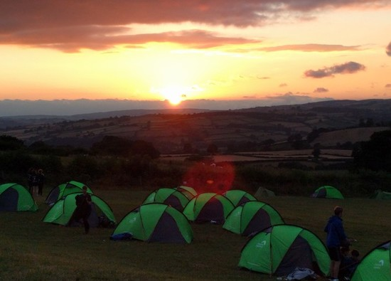 A hot weekend in Brecon Beacons for Gold and Silver DoE students