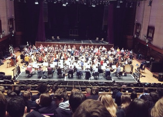 Creative Arts students see Monteverdi Choir and Orchestras rehearse Verdi Requiem