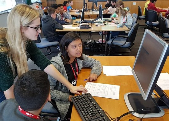 STEM students attend master class at Leonardo's Luton