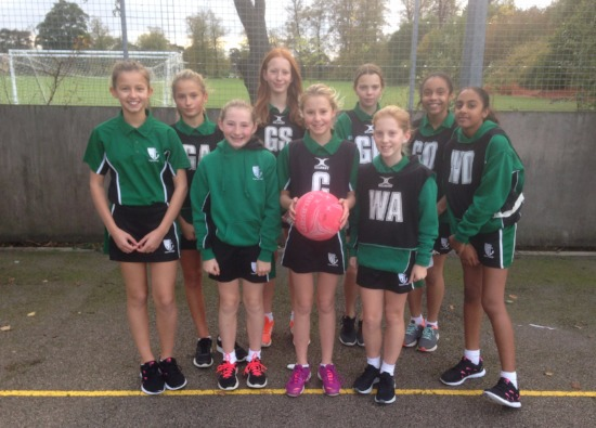 Year 7 Win First Netball Games for the School