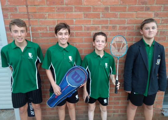 Boys' Badminton Success
