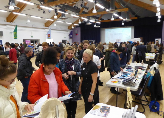Fantastic turnout at Medicine and Healthcare Careers Fair !