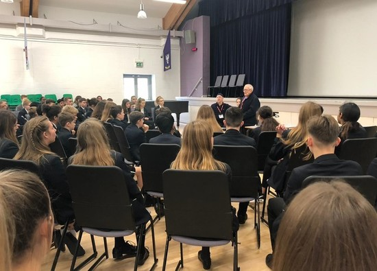 Holocaust Survivor shares his story with Year 9 students