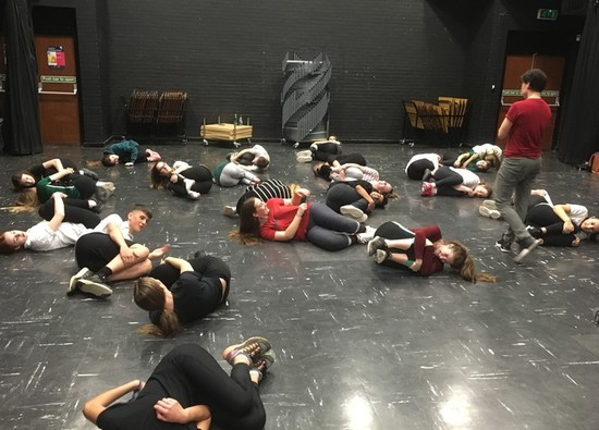 Frantic Assembly Workshop held for Drama students