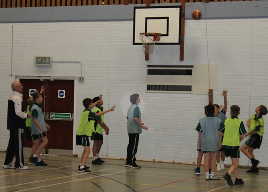 Inter-house Basketball