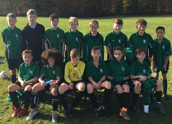 Year 7 Boys win District Football Championships!