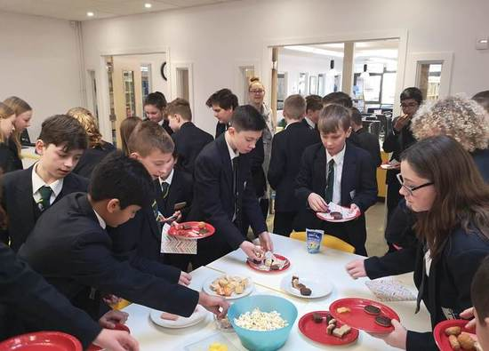 Eager readers celebrate winning Year 7 Non-Fiction Reading Challenge