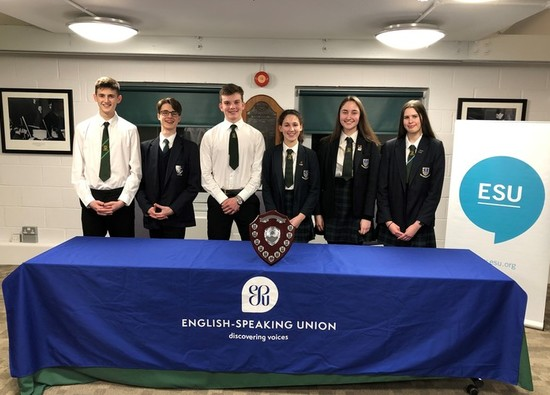 Success for SCD students at English Speaking Union Competition