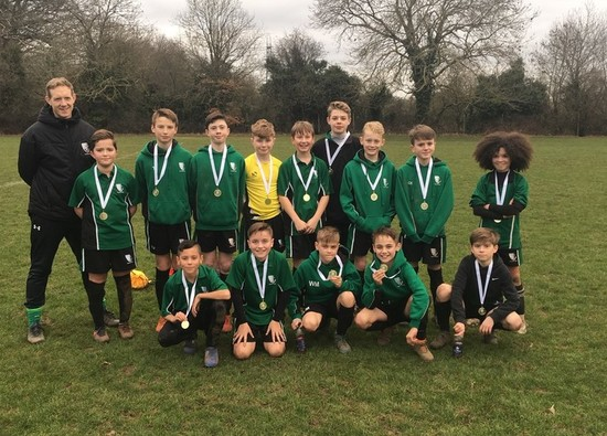Football Teams win District League finals