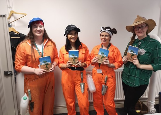 Students and staff celebrate World Book Day!