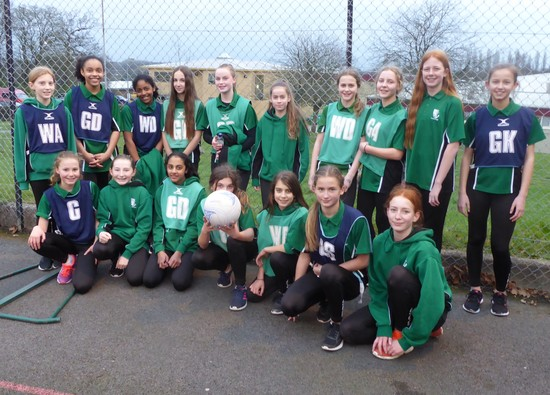 Great day for Y7 netballers at local tournament