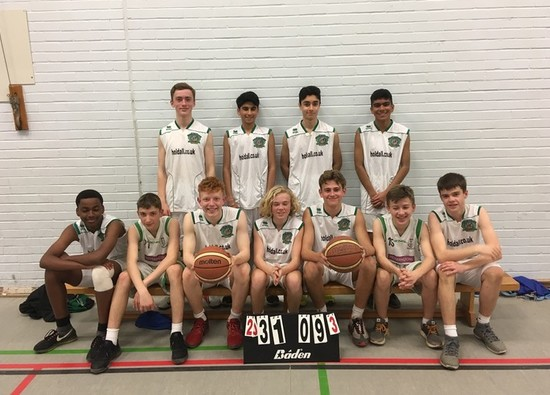 Year 9 Boys win District Basketball League!