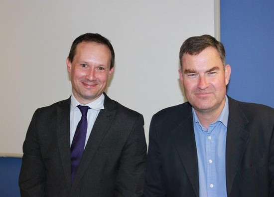Visit from MP David Gauke re EU referendum