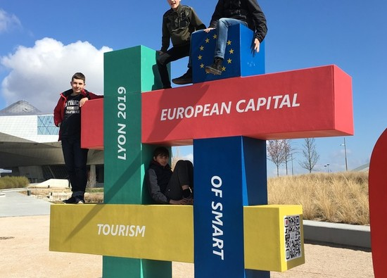 French Exchange students report on an exciting trip to Lyon