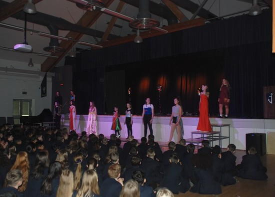 Students showcase designs at Fashion Show