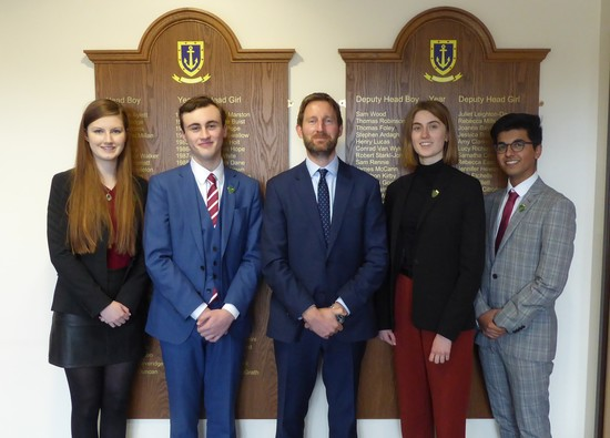 Prefect Team 2019-20 Announced