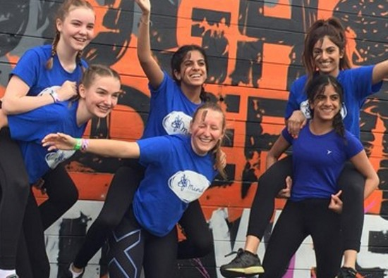 Students take on Tough Mudder challenge in aid of Mind