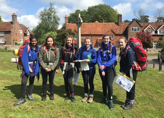 Bronze Duke of Edinburgh students complete their expedition challenge