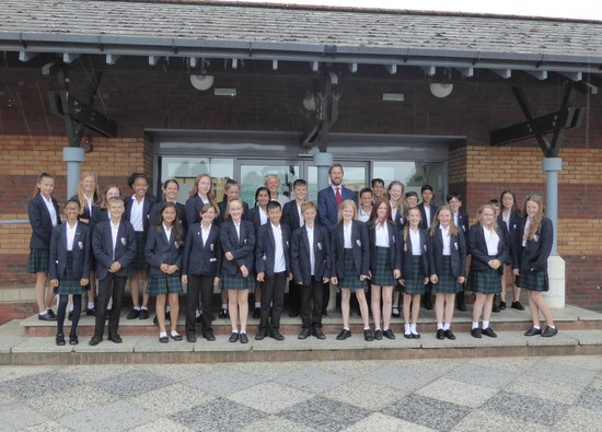 Celebration for Year 7 students