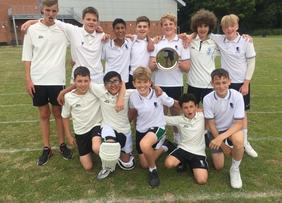 Year 8 Cricket Champs!