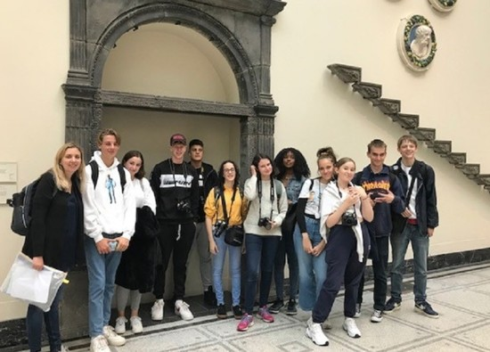 Photography students visit London Galleries