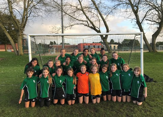 A great start to the season for Girls' Football Teams!