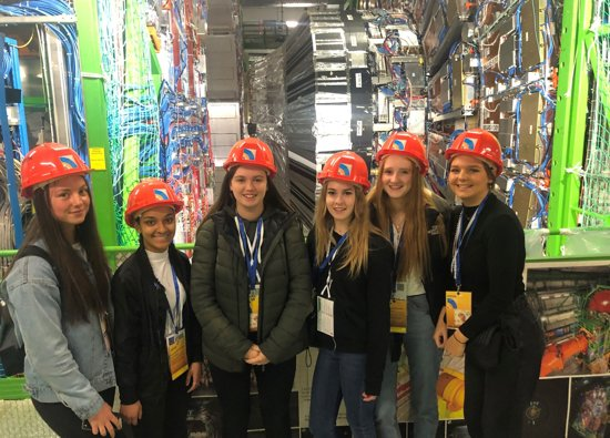An action packed trip to Cern for science students