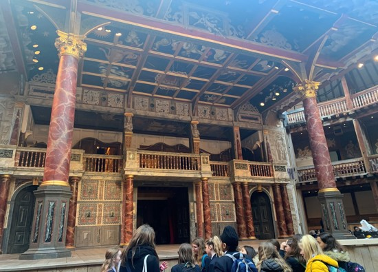Carnegie Group Visit Globe Theatre and Waterstones in Piccadilly