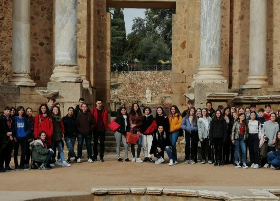 Spanish Students enjoy exchange trip to Seville