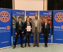 Rotary public speaking