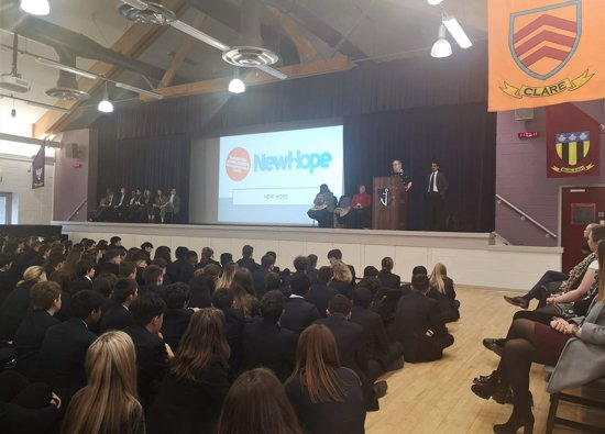 Charities thank school for over £10000 raised during Charities' Week!