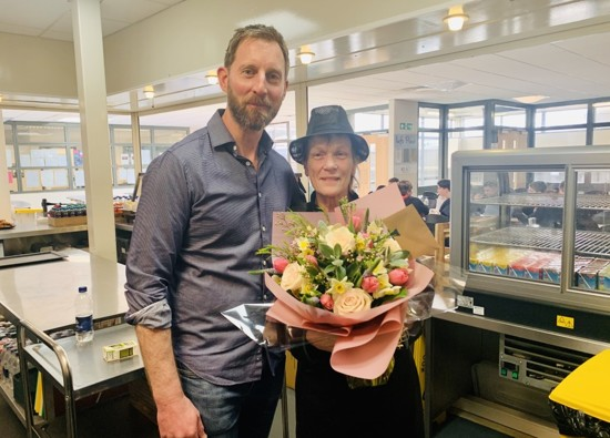 Rose retires after loyal service to St Clement Danes School