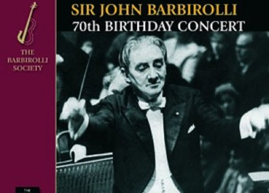 SCD remembers Old Dane Sir John Barbirolli on 50th Anniversary of his death
