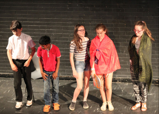 Burleigh triumph at Year 7 Inter-Form  Drama  Competition