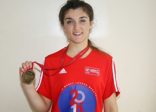 London Marathon success for Year 13 student!