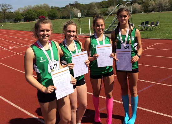 Inter Girls win County Combined Athletics event
