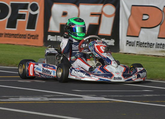 SCD student heads off to World Karting Championships as British Vice Champion