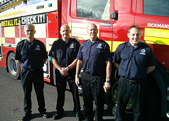 Rickmansworth Firefighters offer road safety advice to sixth form students