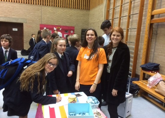 Students raise funds for Children in Need