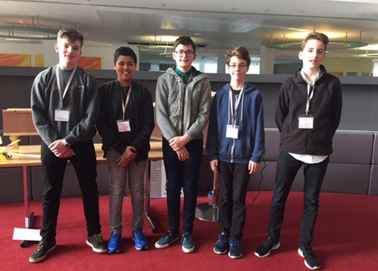 Students attend Royal Institute Engineering Masterclasses at Leonardo UK